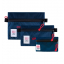 Topo Designs Accessory Bags Navy Set of 3