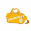 Topo Designs Mini Quick Pack Canvas Mustard