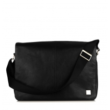 "Knomo Bungo 15.6"" Expandable Messenger Black"