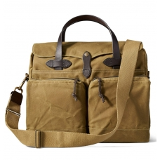 Filson 24-Hour Tin Cloth Briefcase 11070140-Dark Tan