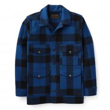 Filson Mackinaw Cruiser Jacket Cobalt Black