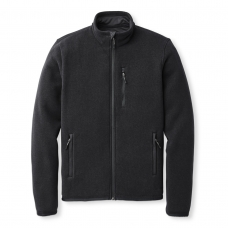 Filson Ridgeway Fleece Jacket Black