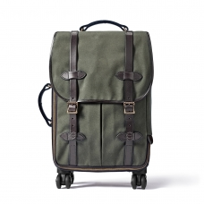 Filson Rugged Twill Rolling 4-Wheel Carry-On Bag 20069583-Otter Green