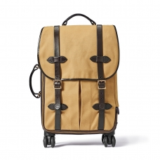 Filson Rugged Twill Rolling 4-Wheel Carry-On Bag 20069583-Tan
