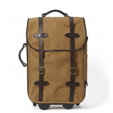 Filson Rugged Twill Rolling Carry-On Bag 11070323-Tan