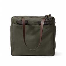 Filson Tote Bag With Zipper 11070261-Otter Green