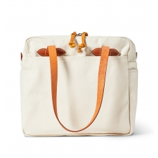 Filson Rugged Twill Tote Bag With Zipper 20112028-Natural