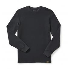 Filson Waffle Knit Thermal Crewneck Shirt 20067706 Navy