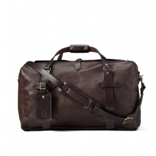 Filson Weatherproof Leather Duffle Bag Medium 11070397-Sierra Brown