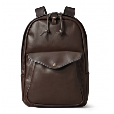 Filson Weatherproof Leather Journeyman Backpack 11070398-Sierra Brown