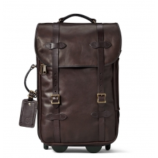 Filson Weatherproof Leather Rolling Carry-On Bag-Medium 11070439-Sierra Brown