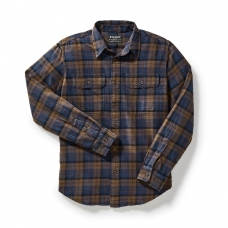 Filson Scout Shirt 20049628-Brown/Navy/Black