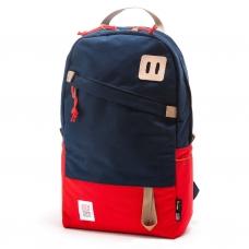 Topo Designs Daypack Red/Navy