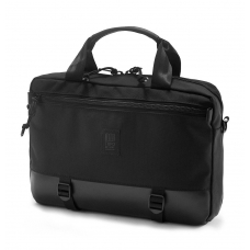 Topo Designs Commuter Briefcase Ballistic/Black Leather