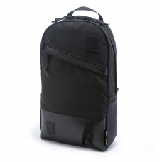 Topo Designs Daypack Ballistic/Black Leather