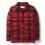 Filson Mackinaw Cruiser Jacket Red Black