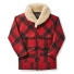 Filson Lined Wool Packer Coat 20018829 Red/Black/Plaid