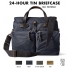 Filson 24-Hour Tin Briefcase 11070140 Navy color-swatch