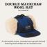 Filson Double Mackinaw Cap 20184230 Cobalt Black a cold weather classic