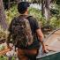 Filson Dryden Backpack 20152980 Dark Shrub Camo in the field