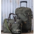 Filson Ballistic Nylon Dryden 2-Wheel Rolling Carry-On Bag and Briefcase - luggage