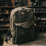 Filson Journeyman Backpack 11070307 Otter Green in workplace