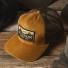 Filson Logger Mesh Cap 1130237-Dark Tan lifestyle