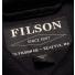 Filson Mackinaw Cruiser Dark Navy label