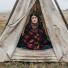 Filson MacKinaw Blanket 11080110 Red/Black in shelter