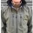 Filson Neoshell Reliance Jacket Olive Drab with Ridgeway Fleece Jacket