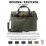 Filson Original Briefcase 11070256 Otter Green color-swatch and description
