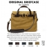 Filson Original Briefcase Tan colorswatch and description