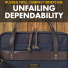 Filson Rugged Twill Compact Briefcase 20201029-Navy-Unfailing-dependability