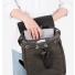 Sandqvist Alva Backpack Beluga inside with laptop