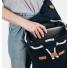 Sandqvist backpack Stig Large Blue laptop compartment