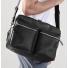 Shinola Zip Top Messenger Black Carrying