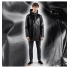 Stutterheim Stockholm Opal Black men effect