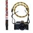 Topo Designs Camera Strap Maroon