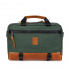 Topo Designs Commuter Briefcase Heritage Olive Canvas/Brown Leather