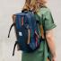 Topo Designs Commuter Briefcase Navy Brown women