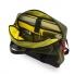 Topo Designs Commuter Briefcase Olive/Black Leather inside