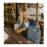 Topo Designs Daypack Storm/Khaki Leather Lifestyle