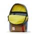 Topo Designs Daypack Storm/Khaki Leather open