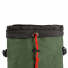 Topo Designs Klettersack Heritage Olive Canvas/Brown Leather top closure