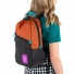 Topo Designs Light Pack Clay/Black lifestyle
