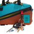 Topo Designs Mini Quick Pack Turquoise/Clay front pocket