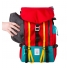 Topo Designs Mountain Pack Red detail