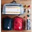 Topo Designs Pack Bag Red and Navy Lifestyle