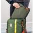 Topo Designs Pack Bag Olive Lifestyle