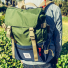 Topo Designs Rover Pack Classic Olive/Navy carrying detail